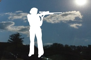Marksman Window Decal