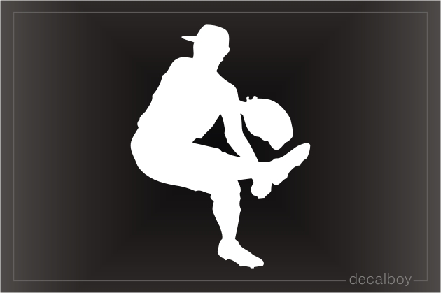 Pitcher 2 Window Decal