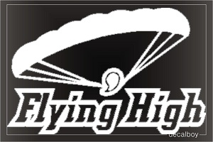 Skydiving Window Decal