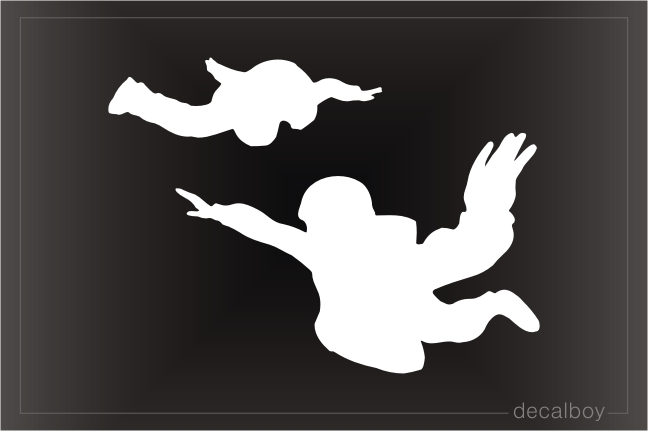 Skydive Window Decal