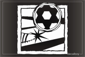 Soccer Window Decal
