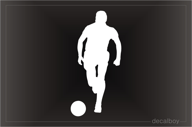 Soccer Play Window Decal