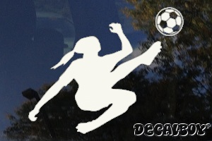 Soccer Decals  Stickers Decalboy - Soccer custom vinyl decals for car windows
