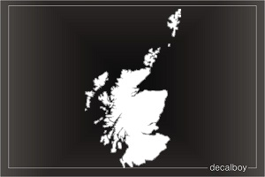 World maps decals stickers decalboy scotland map decal gumiabroncs