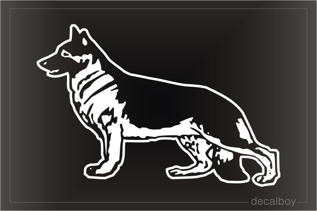 Shepherd Car Window Decal