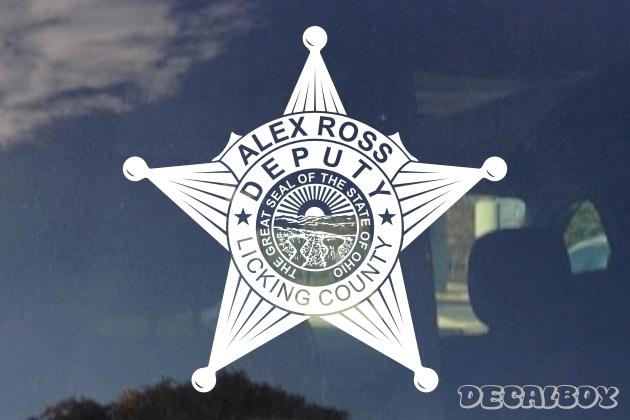 Police, Sheriff Decals & Stickers | Decalboy