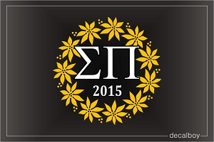 Sigma Pi Logo Decal