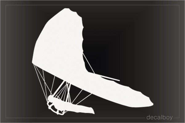 Skydiving Hang Gliding Decal