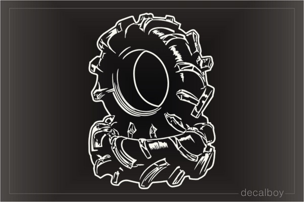 Tires Decal