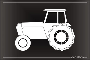 Tractor 2 Window Decal