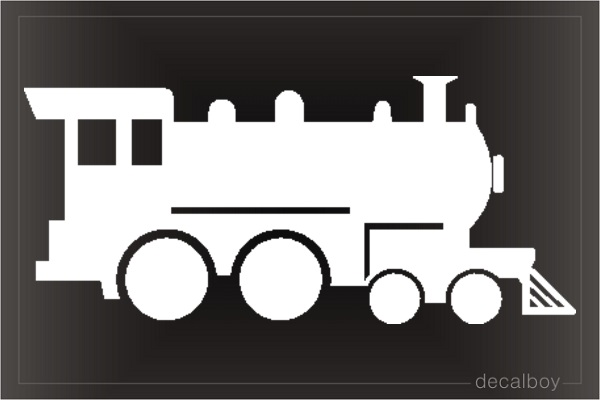 Train 5 Window Decal