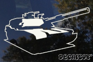 Tank 1142 Car Decal