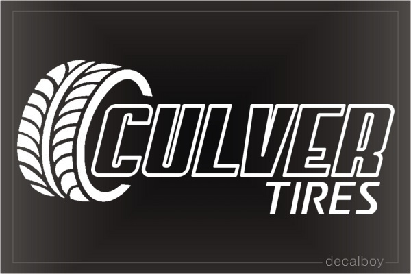 Tire Logo Decal