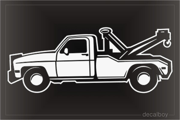 Towtruck 55280 Window Decal