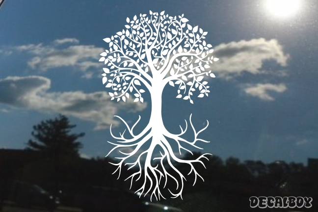 Tree Roots Decal