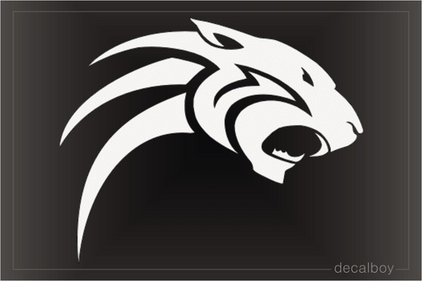 Tribal Panthers Decal