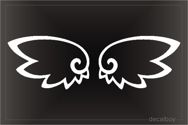Tribal Wings Decal