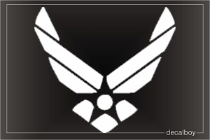 US Airforce Car Decal