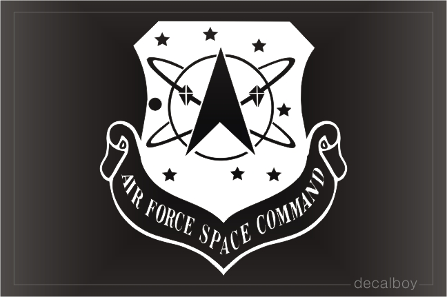 US Air Force Space Car Decal