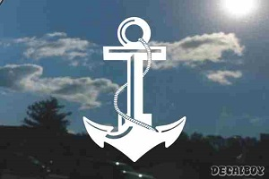 US Navy Anchor Decal