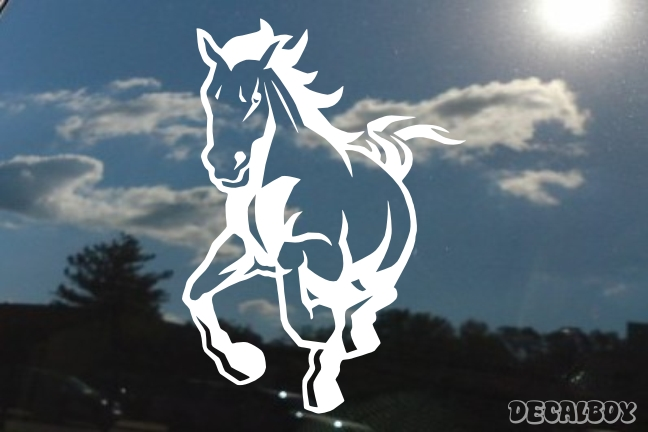 Wild Mustang Decal