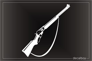 Winchester Rifle Car Decal