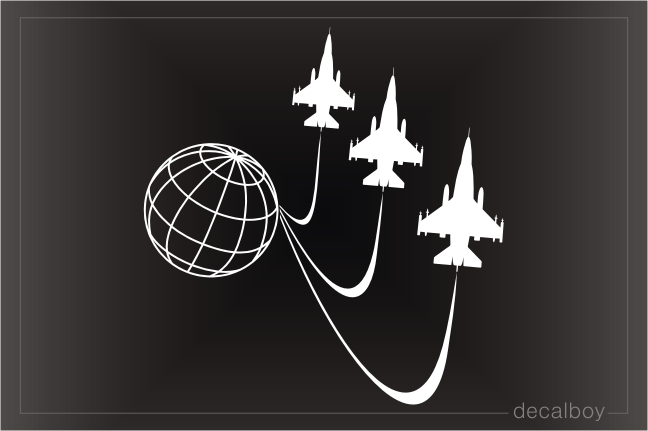 Air Force F16 Squadron Decal