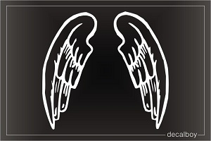 Angel Wings Window Decal