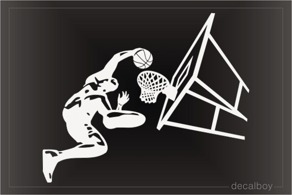 Basketball Shot Decal