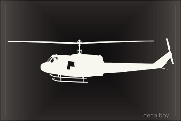Bell Huey Helicopter Decal