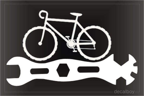 Bicycle Repair Wrench Decal