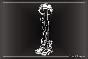 Boots Helmet Rifle Decals \u0026 Stickers