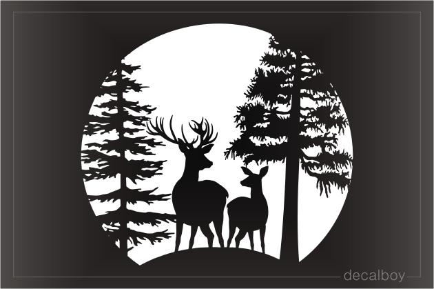 Tribal Deer Head Tattoo