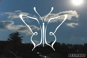 Butterfly Design Decal