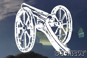 Cannon Decal