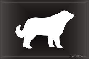 Caucasian Shepherd Dog Decal