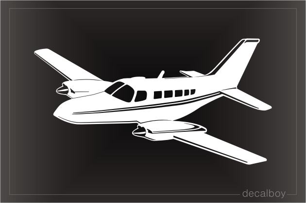 Cessna 402 Airplane Decal