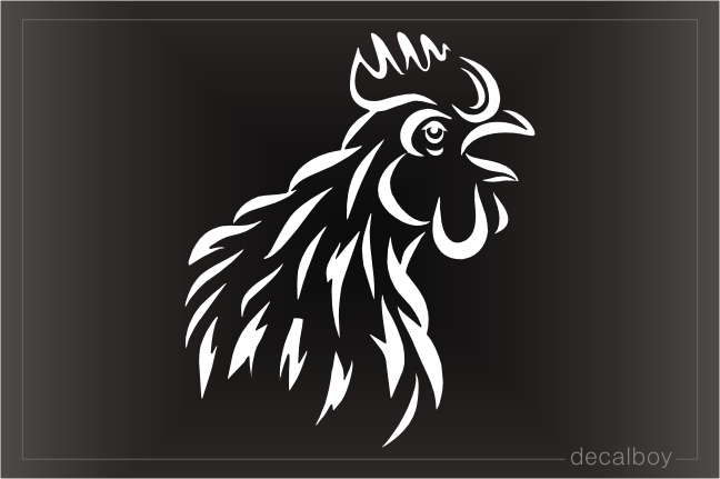 Cock Decal