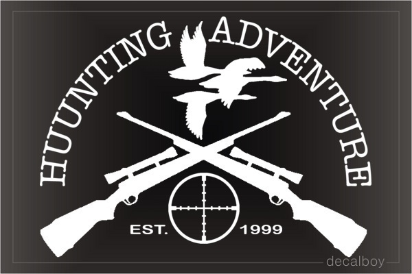 Duck Hunt Logo Decal