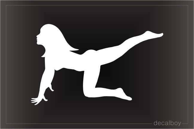Fitness Club Car Window Decal
