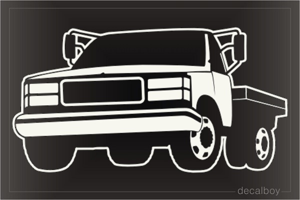 Towtruck Decals Amp Stickers Decalboy