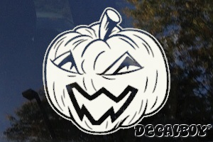 Irish Jack Olantern Window Decal