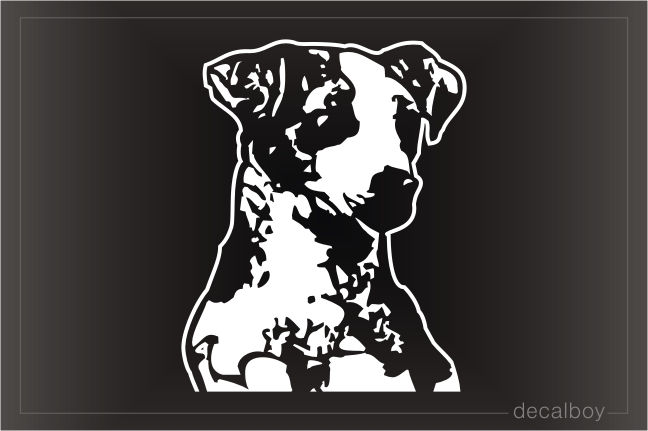 Jack Russell Terrier Car Window Decal