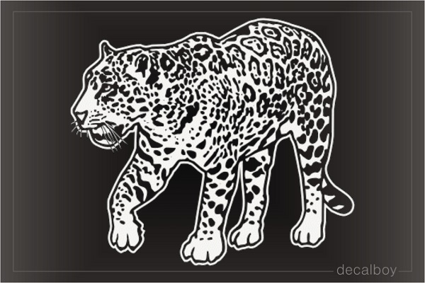 Leopard Panther Decal