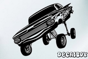 Lowrider Car Decal
