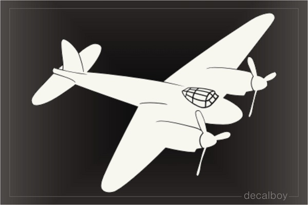 Mosquito Aircraft Decal