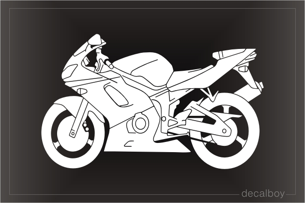 Motorcycle Cruiser Decal