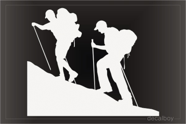 Mountain Climbers Decal