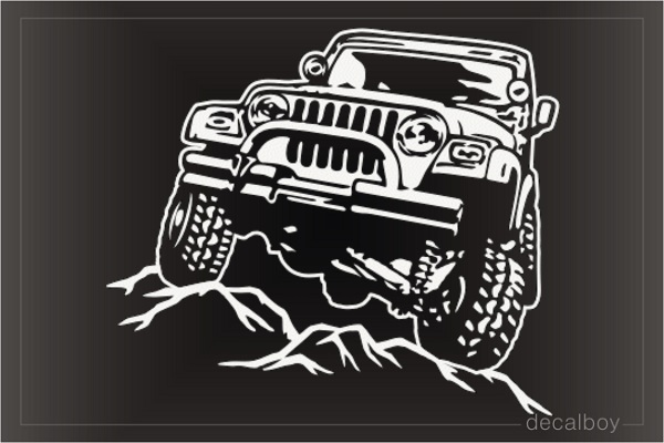 Off Road Car Decal