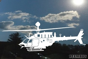 OH 58d Kiowa Helicopter Decal